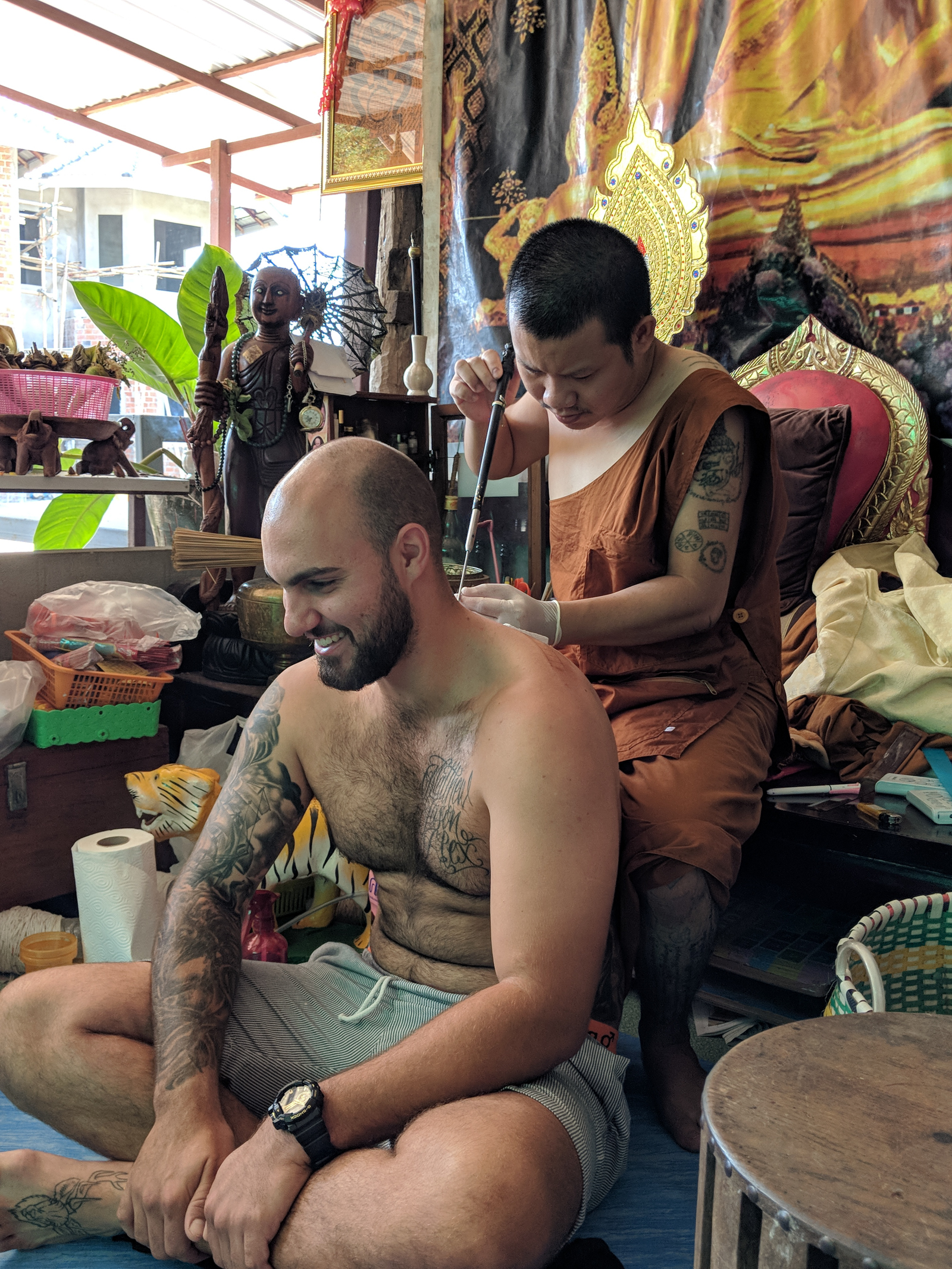 Getting Sak Yant Tattoos with WSE Travels