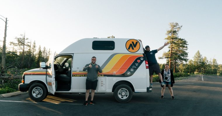 #VanLife Roadtrip Across the Mighty Five